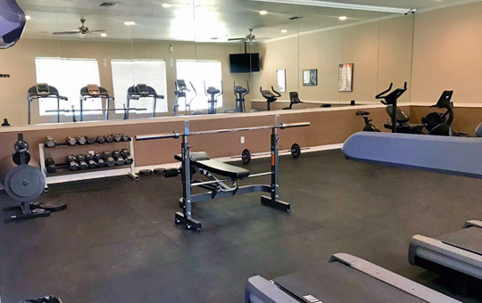 la serena toscana apartments gym