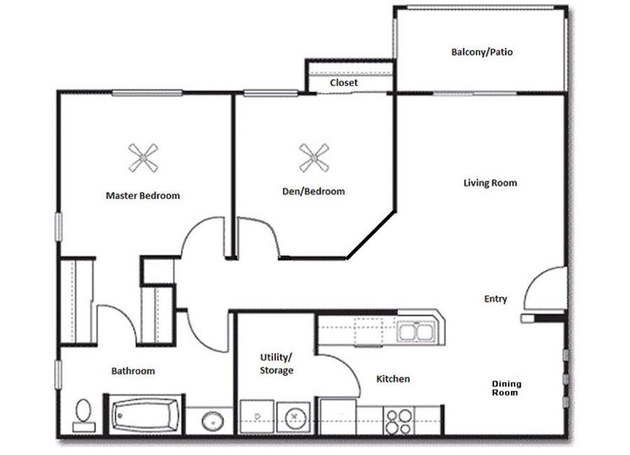 La Serena Toscana Apartments Floor Plan Lucca